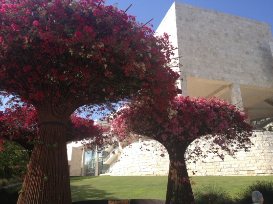 the getty museum in los