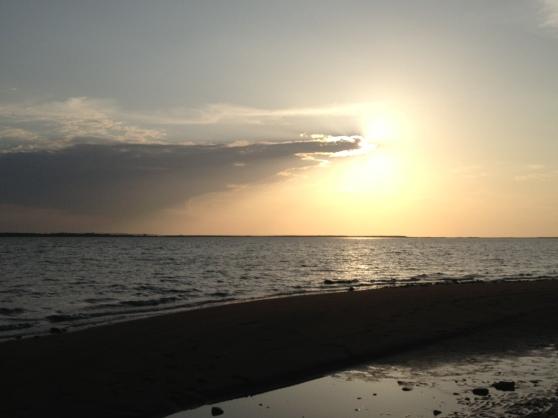 stellar sunset, amagansett, ny.