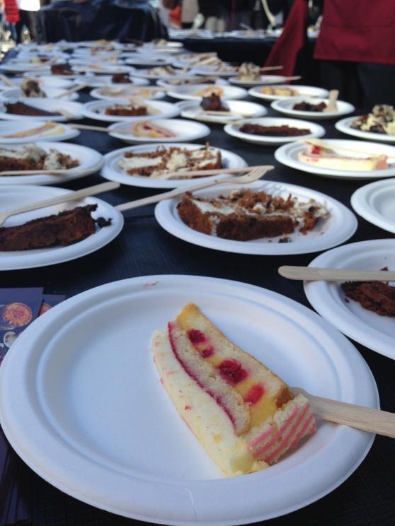 cakes on cakes from cafe intermezzo.