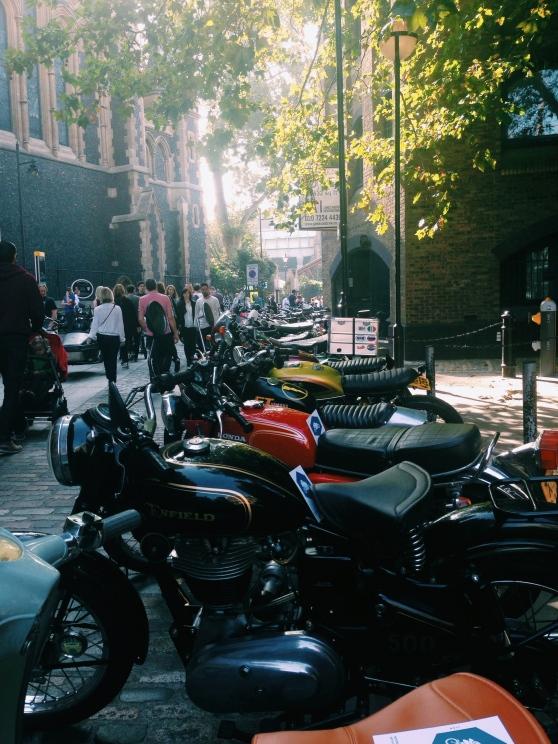 motorcycles london