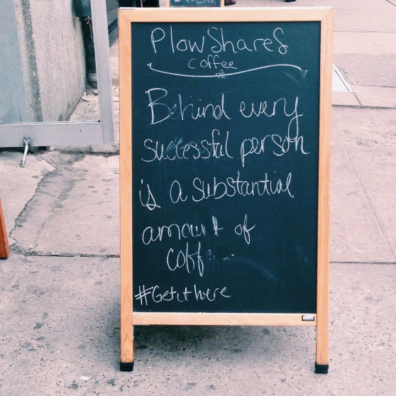plowshares nyc coffee