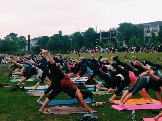 free yoga atlanta