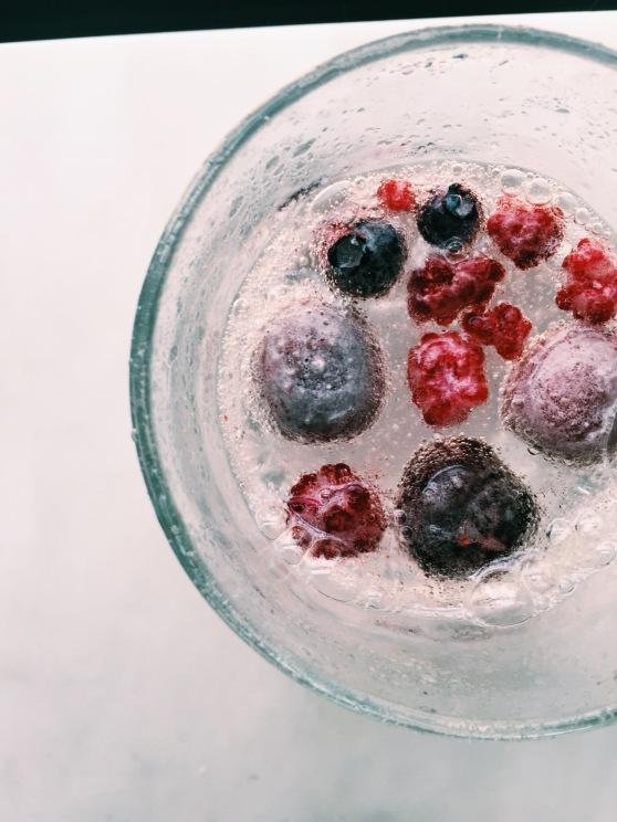 summer berry seltzer