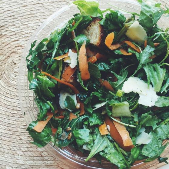 sweetgreen wastED salad